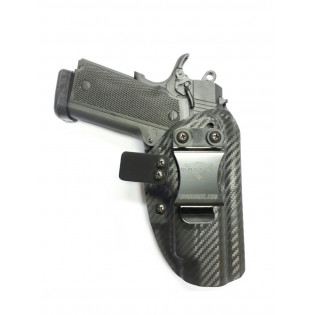 Coldre Velado Kydex Magnum Carbon 24/7