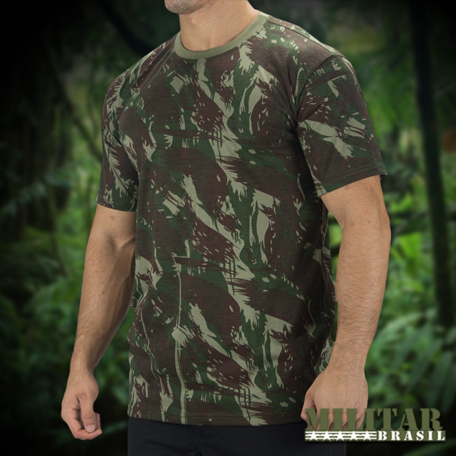Camiseta Militar Manga Curta V2 - CEB