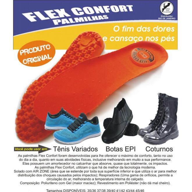 f698bb606 Palmilha Ortopédica Flex Confort - Militar Brasil - artigos ...