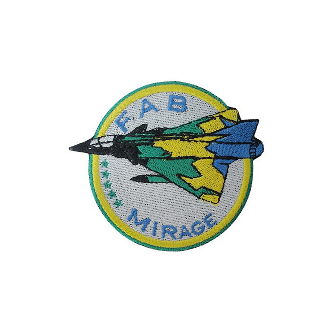 1fbd8c5d25b5b Bordado FAB - Mirage - Militar Brasil - artigos militares ...