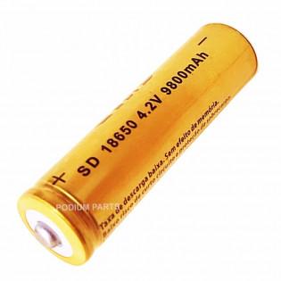 Bateria Regarregavel 18650 - 8800mAh / 3.7
