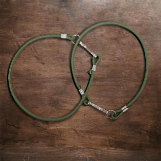 Bombacho Elástico Capa protetora (par) - Verde