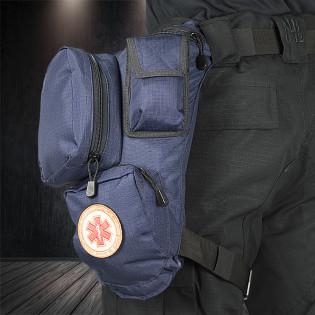 Bornal Primeiros Socorros Samu - Azul Marinho