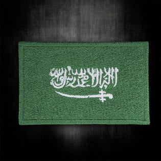 Bordado Bandeira Arabia Saudita