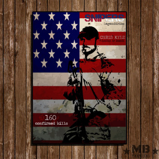 Poster Chris Kyle 297x420mm