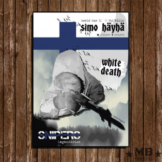 Poster White Death 297x420mm