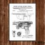 Poster Patent Thompson 1922 - Fundo Branco