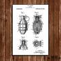 Poster Patent Grenade - Fundo Branco