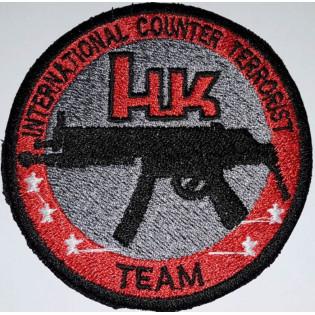 Bordado HK International Counter Terrorist
