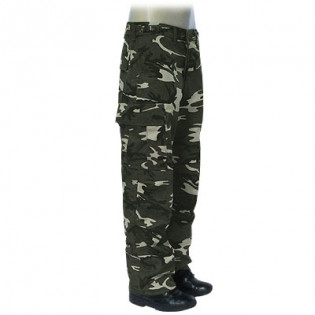 Calça Outlet 1 - Camo Woodland Dark