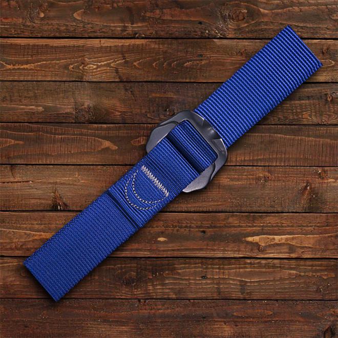 Cinto Poliamida Fivela Aluminio - Azul