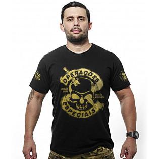 Camiseta Operacoes Especiais - Preto
