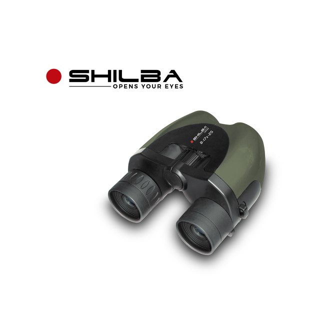 Binoculo Shilba Compact Zoom 8-17X25 Verde