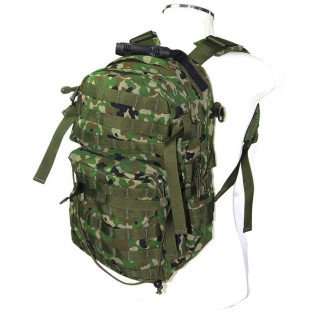 Mochila Assault J-Tech - Camo Woodland