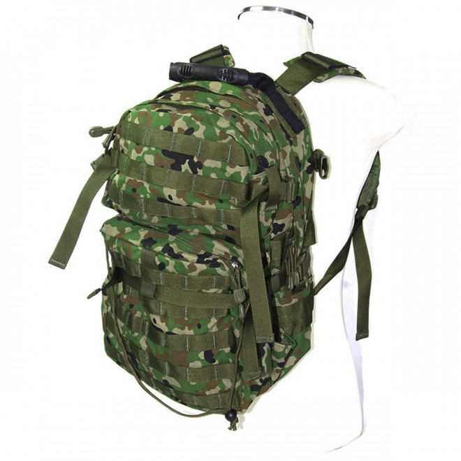 Mochila Assault J-Tech - Camo Woodland