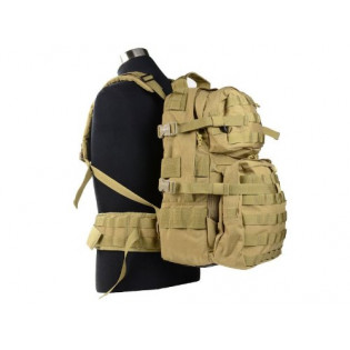 Mochila Assault J-Tech - Coyote