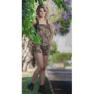Jardineira Army - Camo Exército