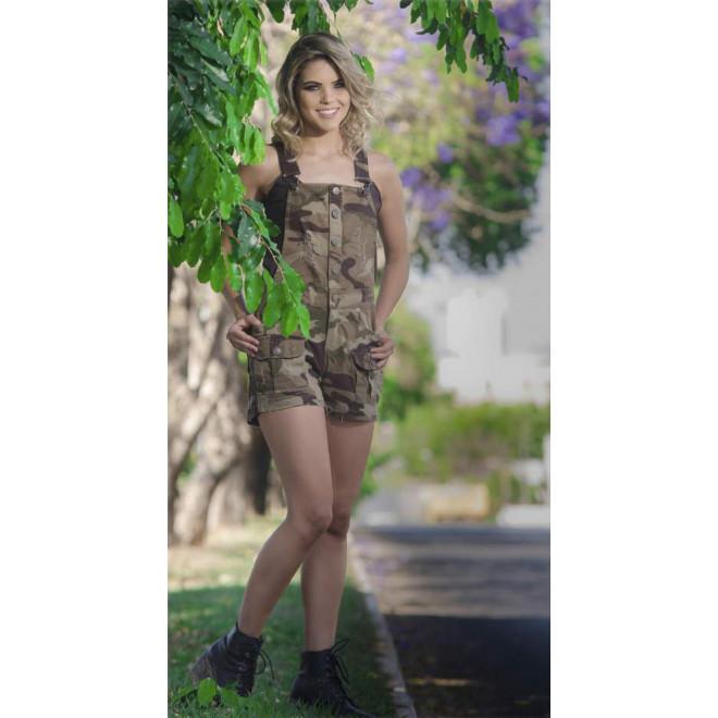 Jardineira Army - Camo Woodland