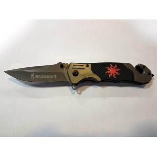 Canivete Browning preto Sun