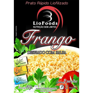 Ração Militar Liofilizada - Frango Desfiado com Salsa - Serve 2