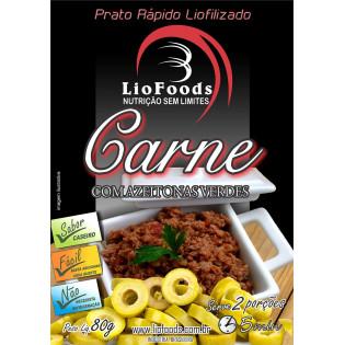 Ração Militar Liofilizada - Carne com Azeitonas - Serve 2