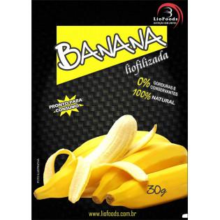 Racao Militar Liofilizada - Banana em pedacos
