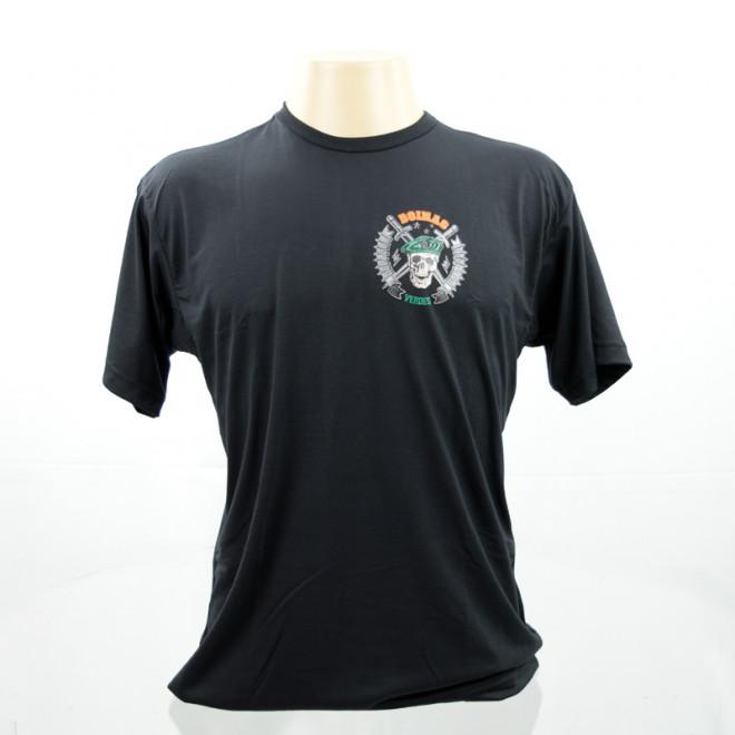 24e4259ad93ca Camiseta Boina Verde - Preto - Militar Brasil - artigos militares ...