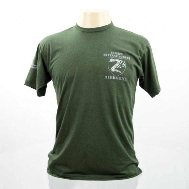 Camiseta Israel Defense Force - Verde