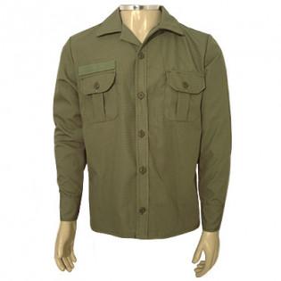 Camisa Marines Manga Longa Top Nyco - Verde