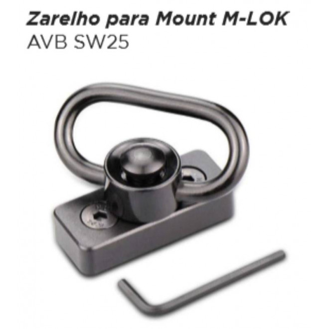 Zarelho para Mount M-LOK AVB