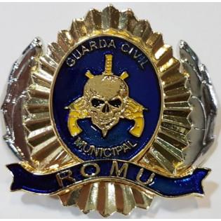 Distintivo de Boina Romu - Azul