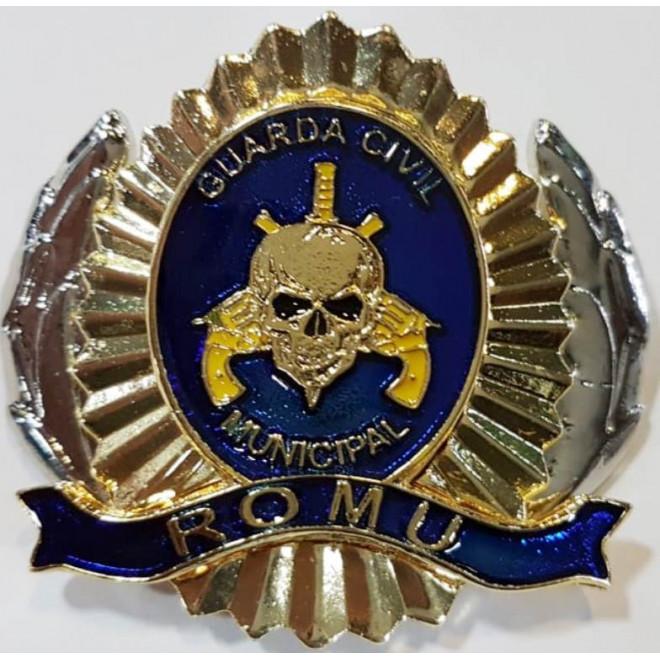 0cfac42c95b39 Distintivo de Boina Romu - Azul - Militar Brasil - artigos militares ...