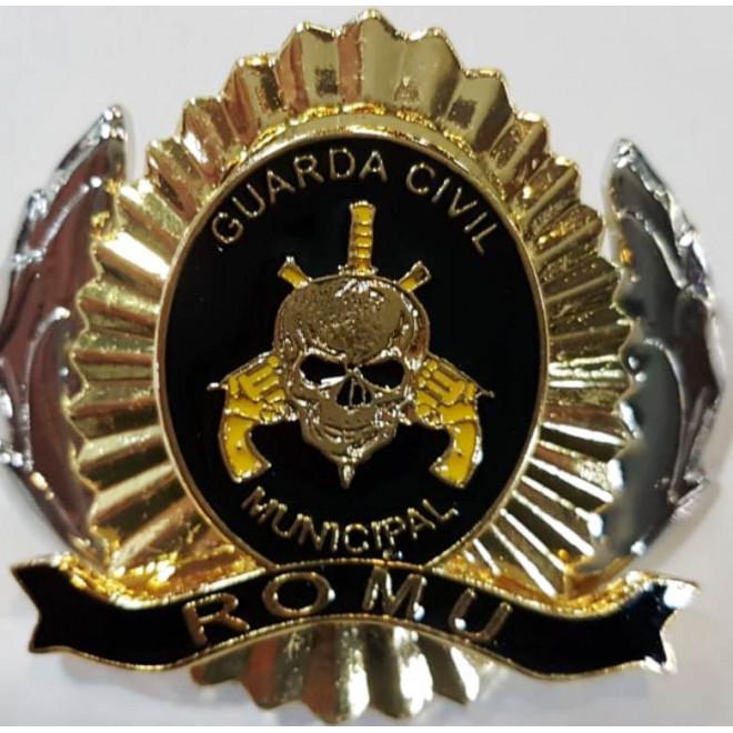 e60b7d9844c05 Distintivo de Boina Romu - Preto - Militar Brasil - artigos ...