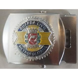 Fivela Rolete Guarda Civil - Prateada