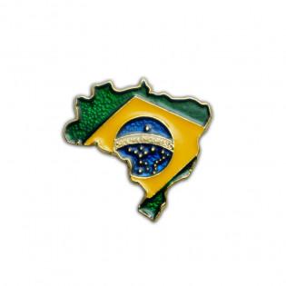 PIN MAPA BRASIL BANDEIRA