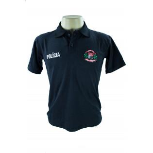 Camisa Polo Policia Civil - Preto