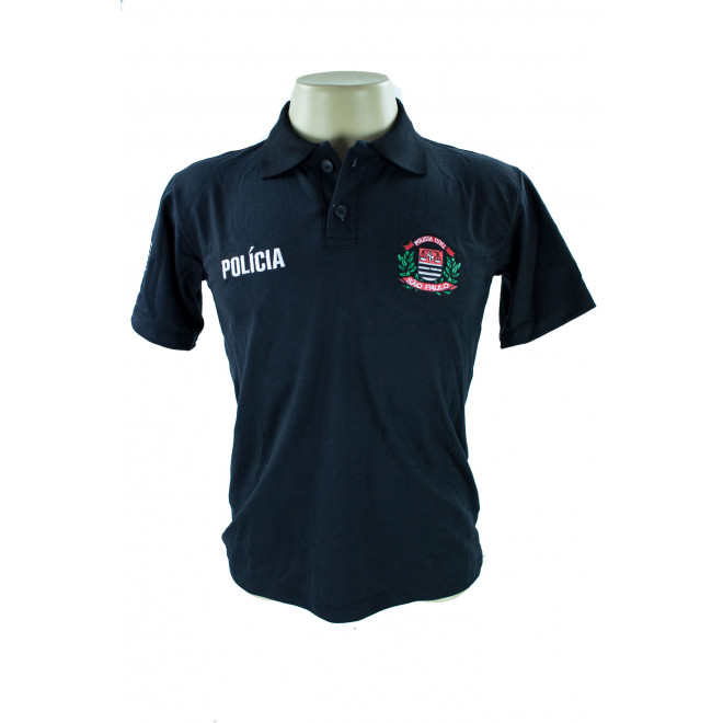 Camisa Polo Policia Civil - Preto