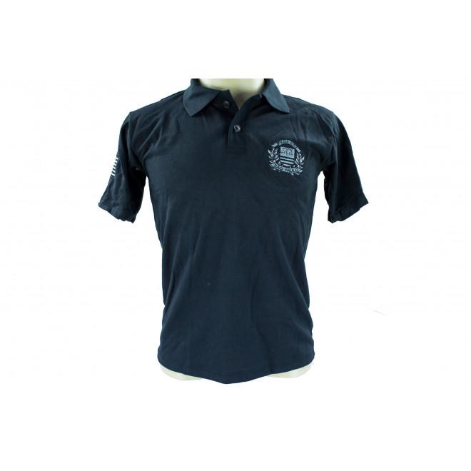 Camisa Polo Policia Civil Baixa Luminosidade - Preto