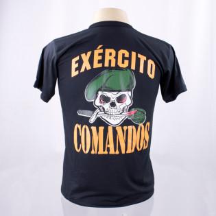 Camiseta Comandos Exército - Preto