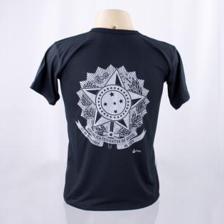Camiseta Brasão Republica - Preto