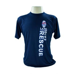 Camiseta L.A.P.D - Azul