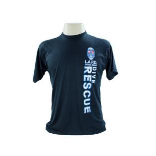 Camiseta L.A.P.D - Preto