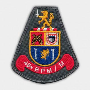 Brasão Bordado 48º BPM/M