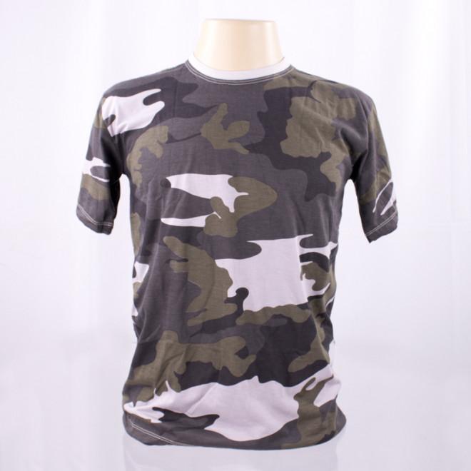 Camiseta Militar Manga Curta - Camo Urbano