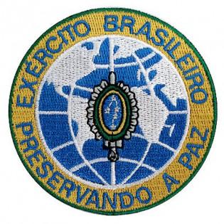 Bordado Exército Brasileiro Preservando a Paz