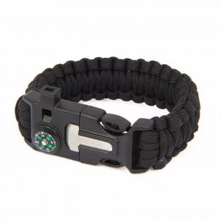 Bracelete Paracord  XGJ 4 - Preto
