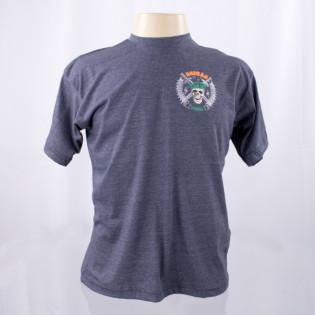 Camiseta Boina Verde - Cinza