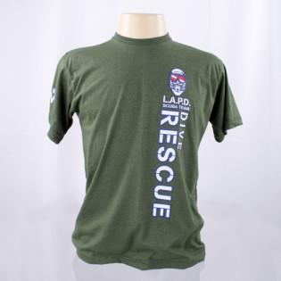 Camiseta L.A.P.D - Verde
