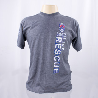Camiseta L.A.P.D - Cinza