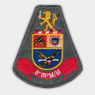 Brasão Bordado 8º BPM/M